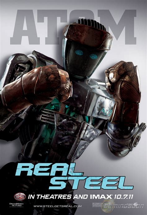 Four New 'Real Steel' Robot Character Posters Released