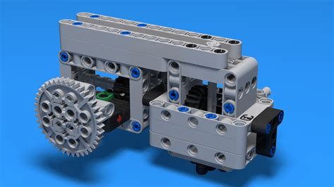 FLLCasts   Box Robot Two Push/Pull Attachment with a Rack