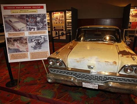 Charles Manson's Ford Fairlane, which he loaned Tex Watson