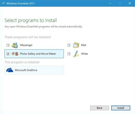 Download and install Windows Photo Gallery on Windows 10