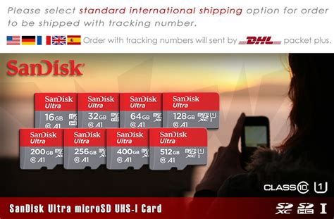 Sandisk 64GB NEW Ultra Micro SD SDXC Card UHS-I Class10 A1