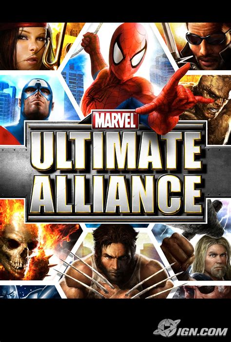 Marvel: Ultimate Alliance Screenshots, Pictures