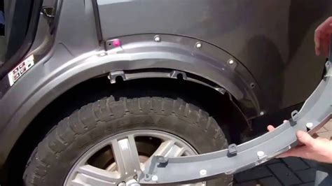 How to fit painted wheel arches to Land Rover Discovery 3