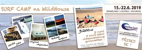 SURF CAMP 2019 na WildHouse - Surfing Czech