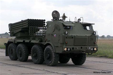 RM-70 Multiple Launch Rocket System | Military-Today