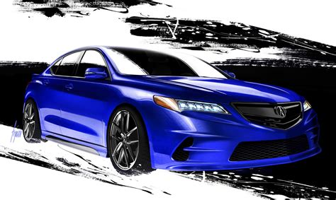Acura Previews SEMA TLX Concept From Galpin Auto Sports