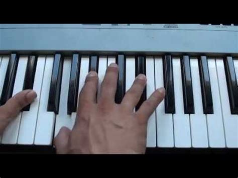 How to play She's a Rainbow on piano - The Rolling Stones