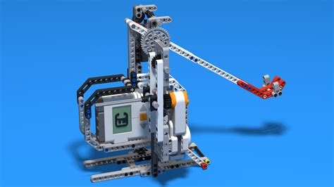 FLLCasts   LEGO Mindstorms Catapult Motor and Touch Sensor