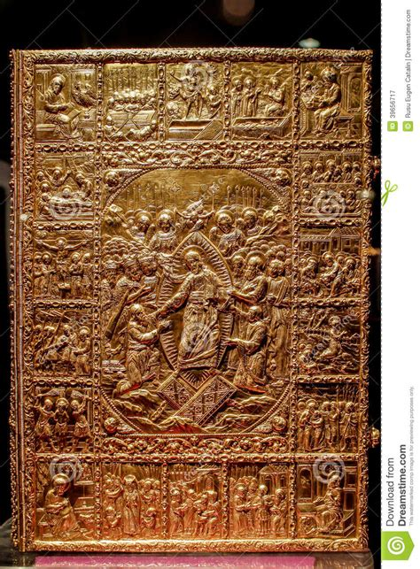 Bible Cover Gold Stock Photo - Image: 39656717