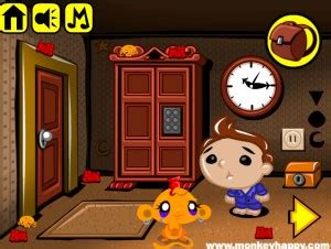Gry Escape The Room: Monkey GO Happy Stage 425 - No More