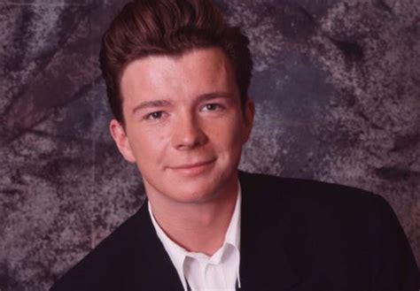Singer Rick Astley married his wife after being together
