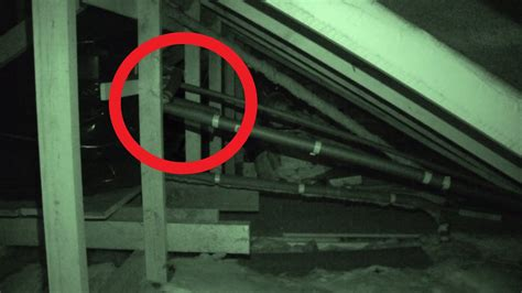 Shadow Apparition Caught in Attic - Real Paranormal
